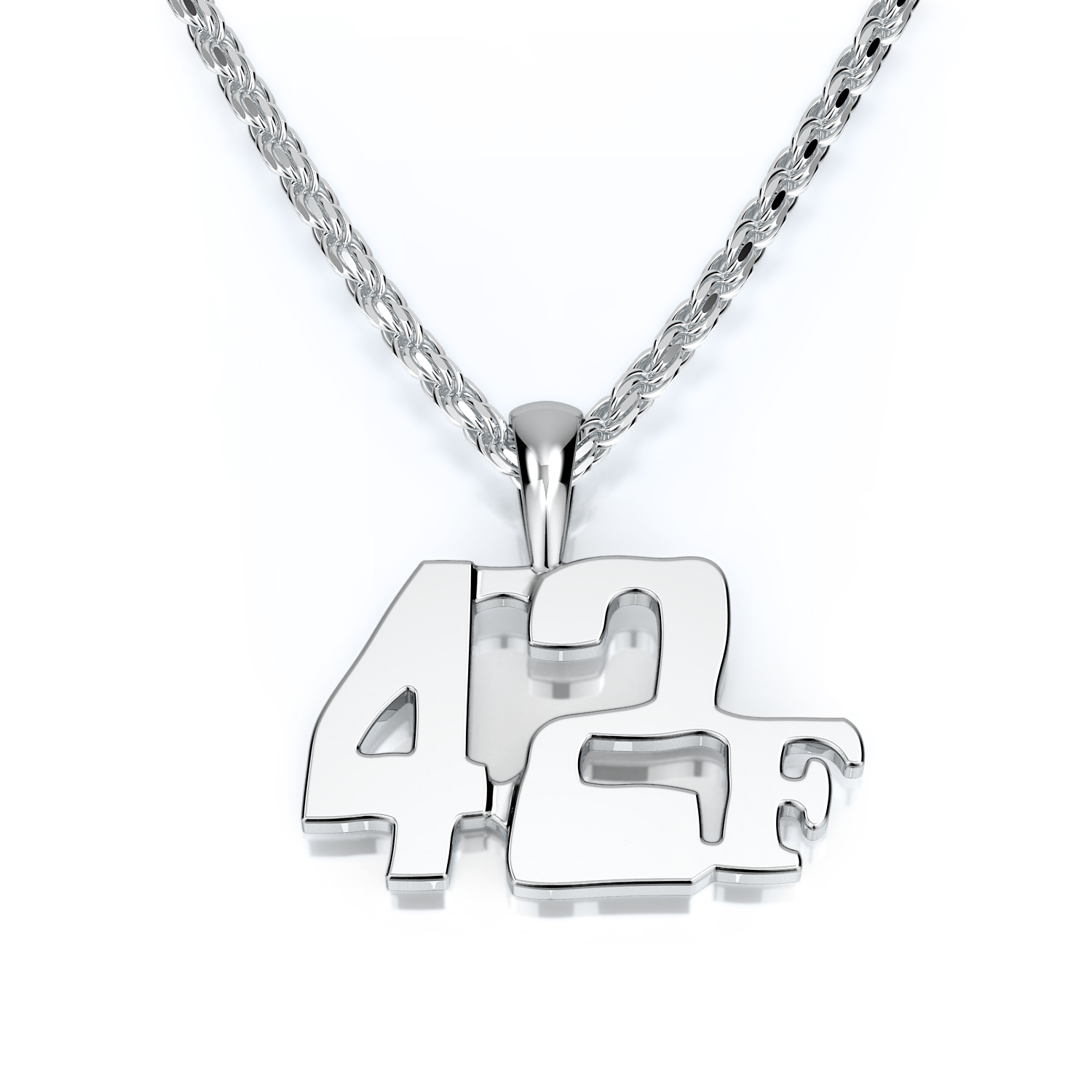 Racer Series Ladies Racing Number Pendant With District Letter  product image