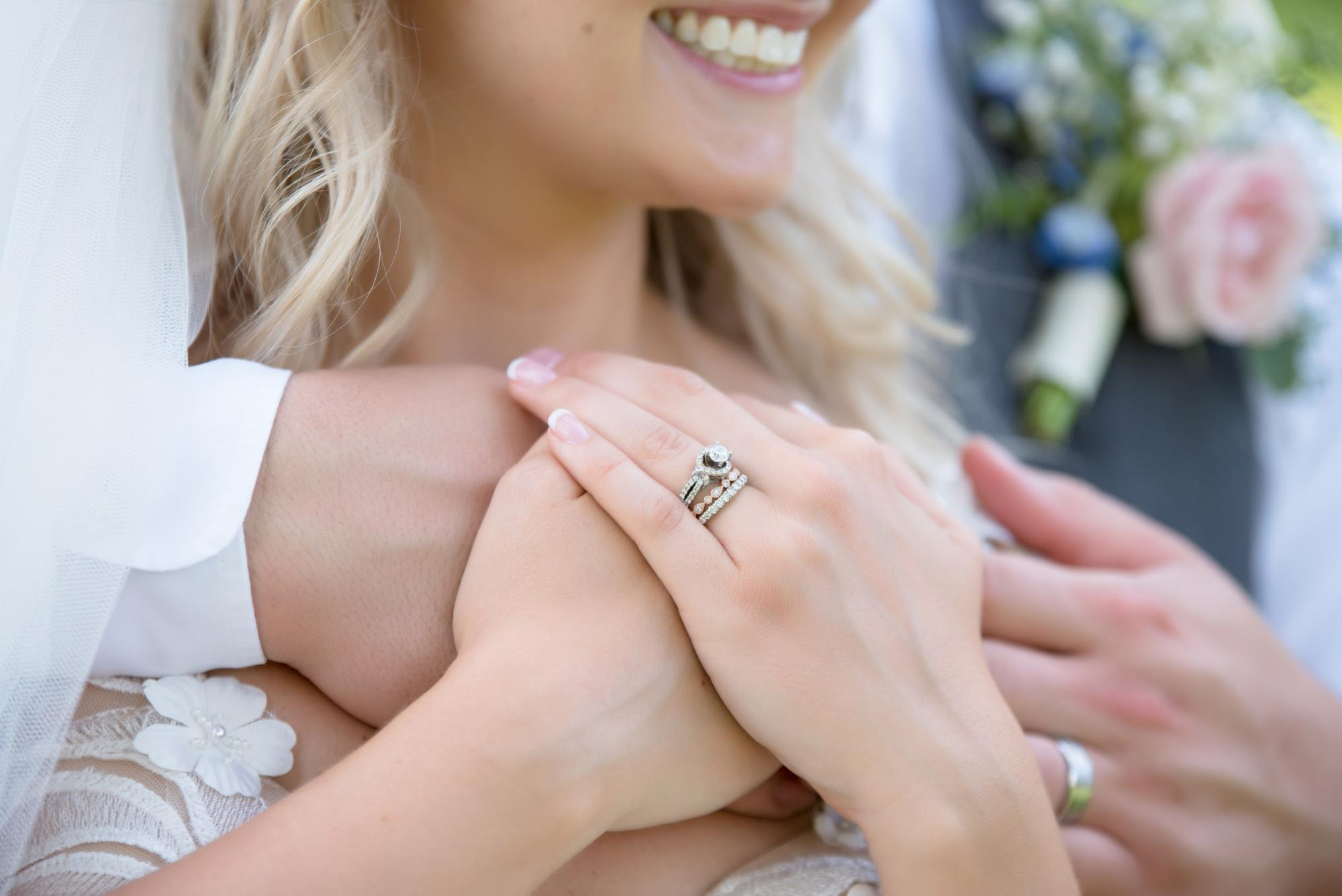 """Say """"I Do"""" With Two Stackable Wedding Bands From Thom Duma Fine Jewelers"""